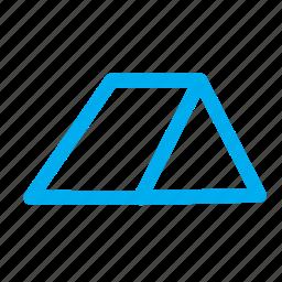 3d triangular, shapes, triangular icon
