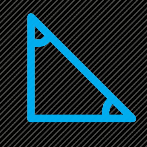 shapes, triangular, vertex, vertices icon