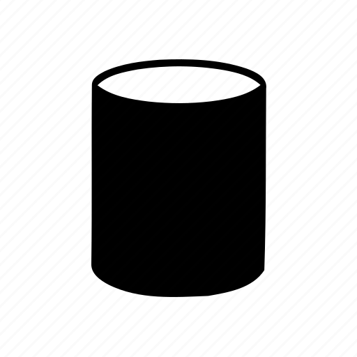 abstract, creative, cylinder, geomatry, geometric, polygon, shape icon