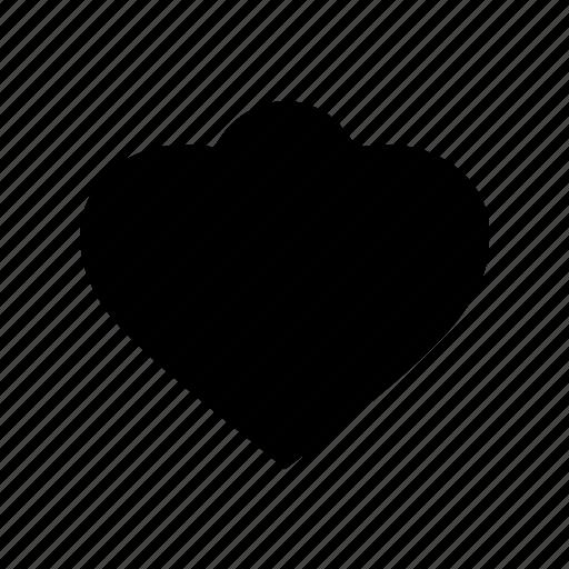 abstract, creative, geomatry, geometric, love shape, polygon, shape icon