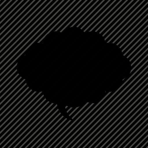 abstract, creative, geomatry, geometric, polygon, shape, speech bubble geometric icon