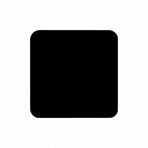 abstract, creative, geomatry, geometric, polygon, shape, square black geometric shape icon