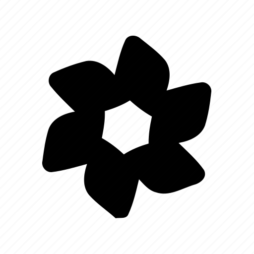 abstract, creative, flower, geomatry, geometric, polygon, shape icon