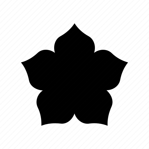 abstract, creative, flower, geomatry, geometric, polygon, shape icon