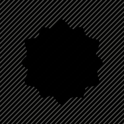 abstract, creative, geomatry, geometric, geometric flower, polygon, shape icon