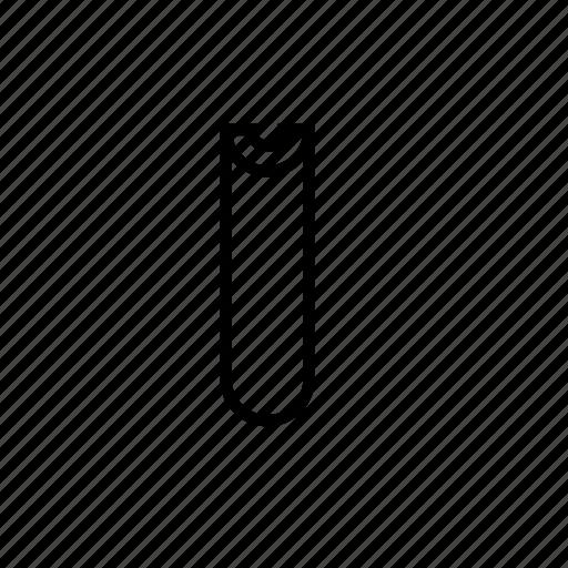 cylinder, geometric, pill, slot, u icon