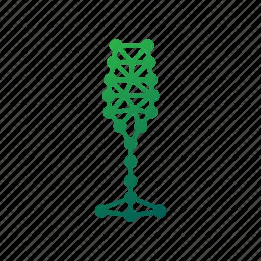 alcohol, beverage, drink, geometric, glass, polygonal, wine icon