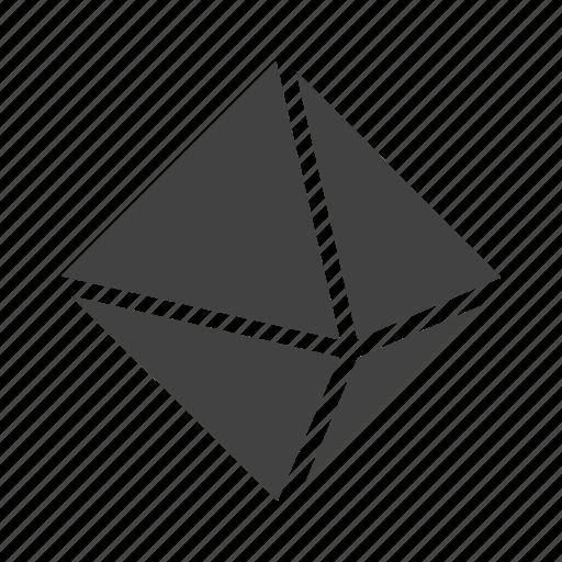 'Geometric Shapes - Glyph' by Nadiinko
