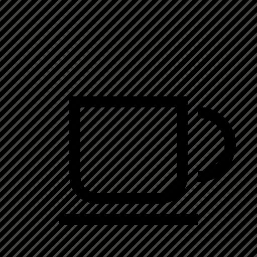 caffè, coffee, cup, drink, glass, tazza, tea icon