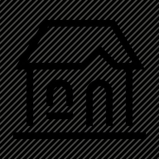 building, casa, estate, home, house, real icon