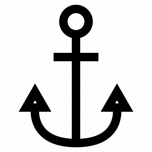 anchor, attach, boat, cook, eat, fish, food, geometric, marine, nautical, navy, ocean, restaurant, sailor, sea, ship, tattoo, water icon