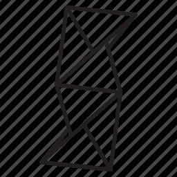 geometry, japan, line, looting, minimalist, origami, paper icon