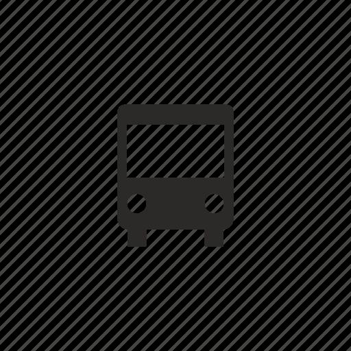 bus, city, transport, travel icon