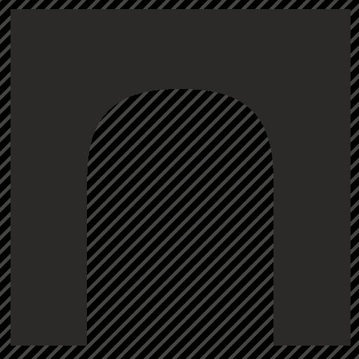arc, form, geometry icon
