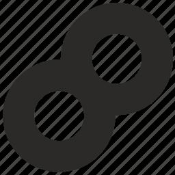 eternity, form, geometry icon
