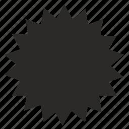 form, geometry, polygon icon