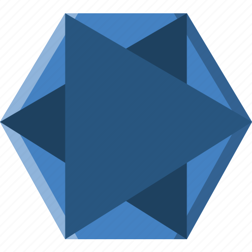 Drawing, form, geometry, hexagone, shape icon - Download on Iconfinder