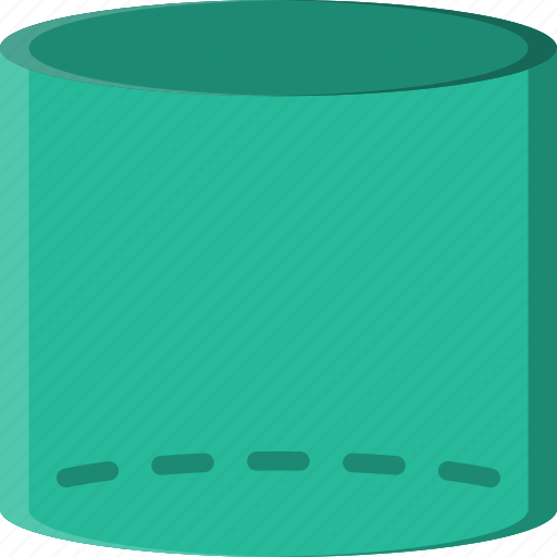 cylinder, drawing, form, geometry, shape icon