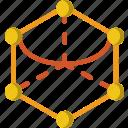 angle, drawing, form, geometry, hexagone, shape