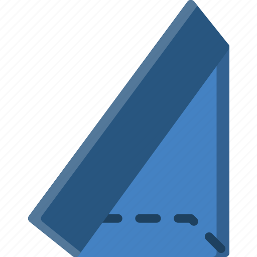 Drawing, form, geometry, shape, triangle icon - Download on Iconfinder