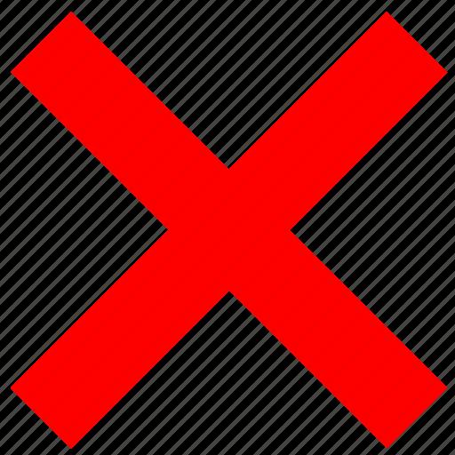 ban, cancel, cross, geometry icon