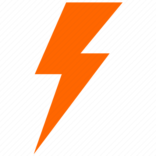 electric, lightning, nature, shock icon