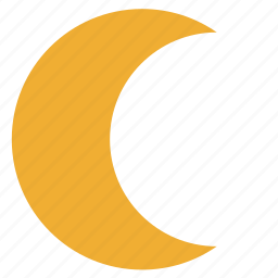 figure, form, geometry, moon, nature icon