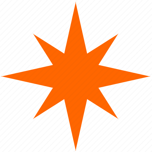 flash, geometry, spark, star icon