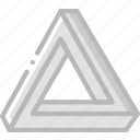drawing, form, geometry, shape, space icon