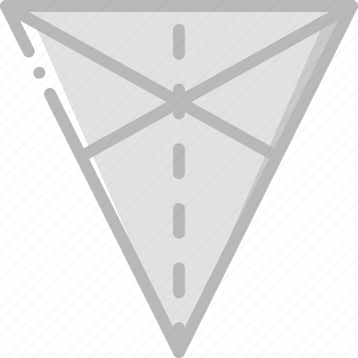 drawing, form, geometry, medians, shape, triangle icon