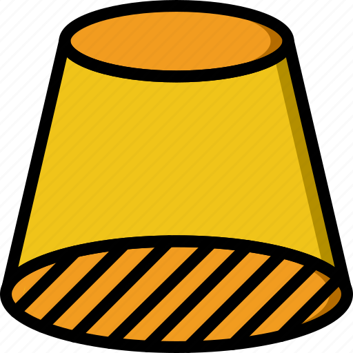 cylinder, drawing, form, geometry, shape, side icon