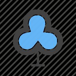 corners, spade, three, tree, with icon