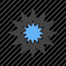 blast, bomb, explosion, fire icon