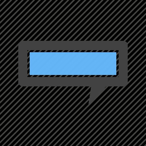 bubble, chat, message, shape icon