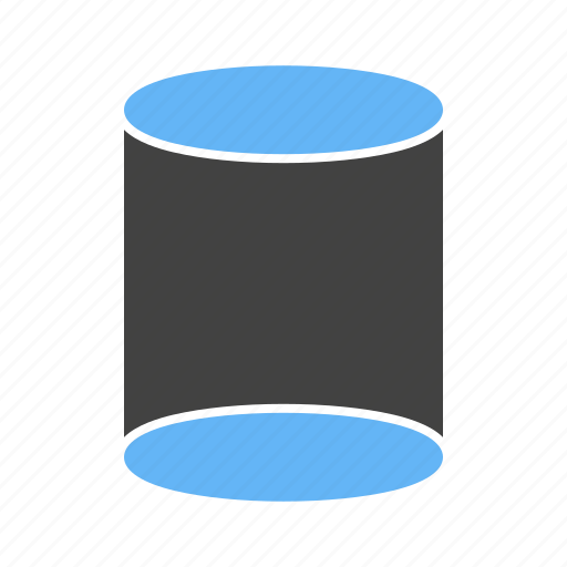 Circular, cylinder, dimensional, three icon - Download on Iconfinder