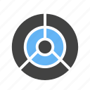 bulls, eye, game, target icon