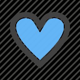 friendship, heart, love, shape icon