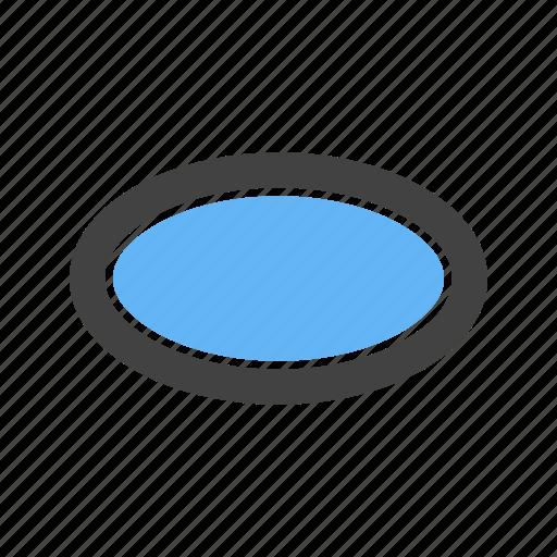 Egg, like, oval, shape icon - Download on Iconfinder
