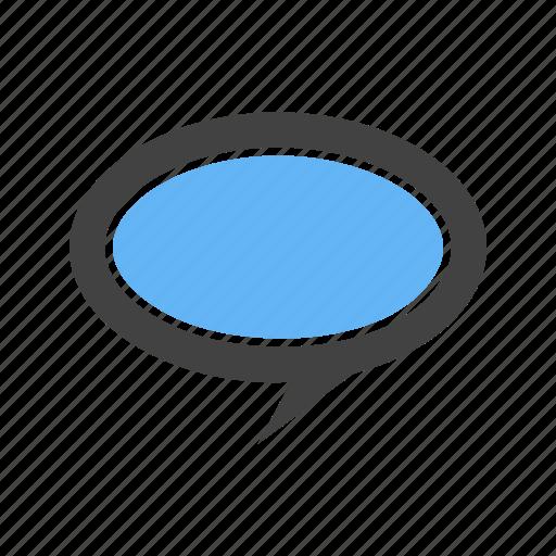 bubble, chat, conversatoon, message icon