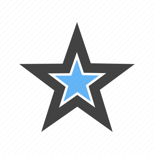 Corners, five, shape, star, with icon - Download on Iconfinder