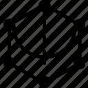 angle, form, geometry, shape, hexagone, drawing