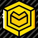 cube, drawing, form, geometry, shape