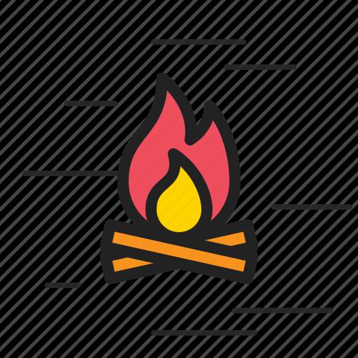 alert, burn, caution, danger, fire, flame, warning icon