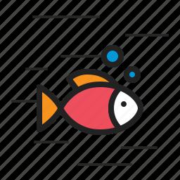 animal, fish, marine, ocean, seafood, wild icon