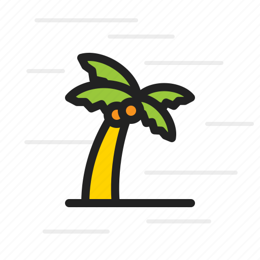 eco, forest, green, leaf, palm, tree icon