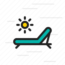 armchair, chair, furniture, pool, seat, swimming icon