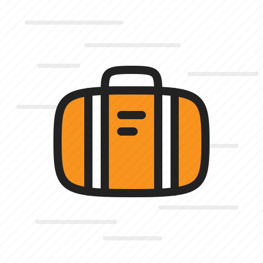bag, briefcase, holiday, suitcase, tourism, travel, trip icon