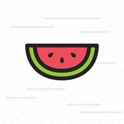 diet, food, fruit, healthy, watermelon icon