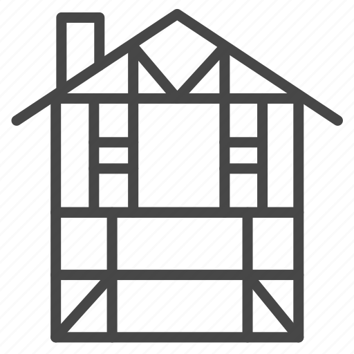 building, europe, german, germany, house, traditional icon