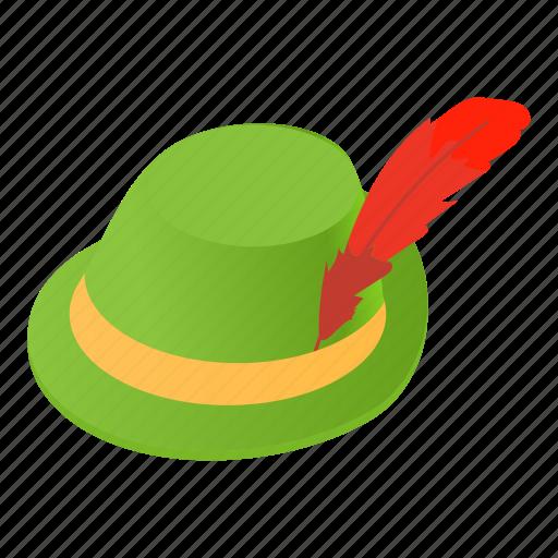 cap, cartoon, clothing, hat, hunt, irish, safari icon